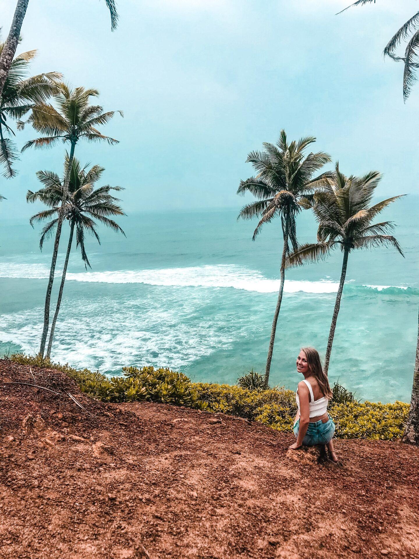 Mirissa Palm Tree Hill