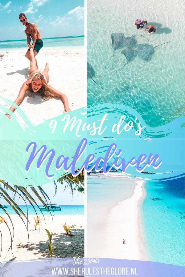 Must do's Malediven
