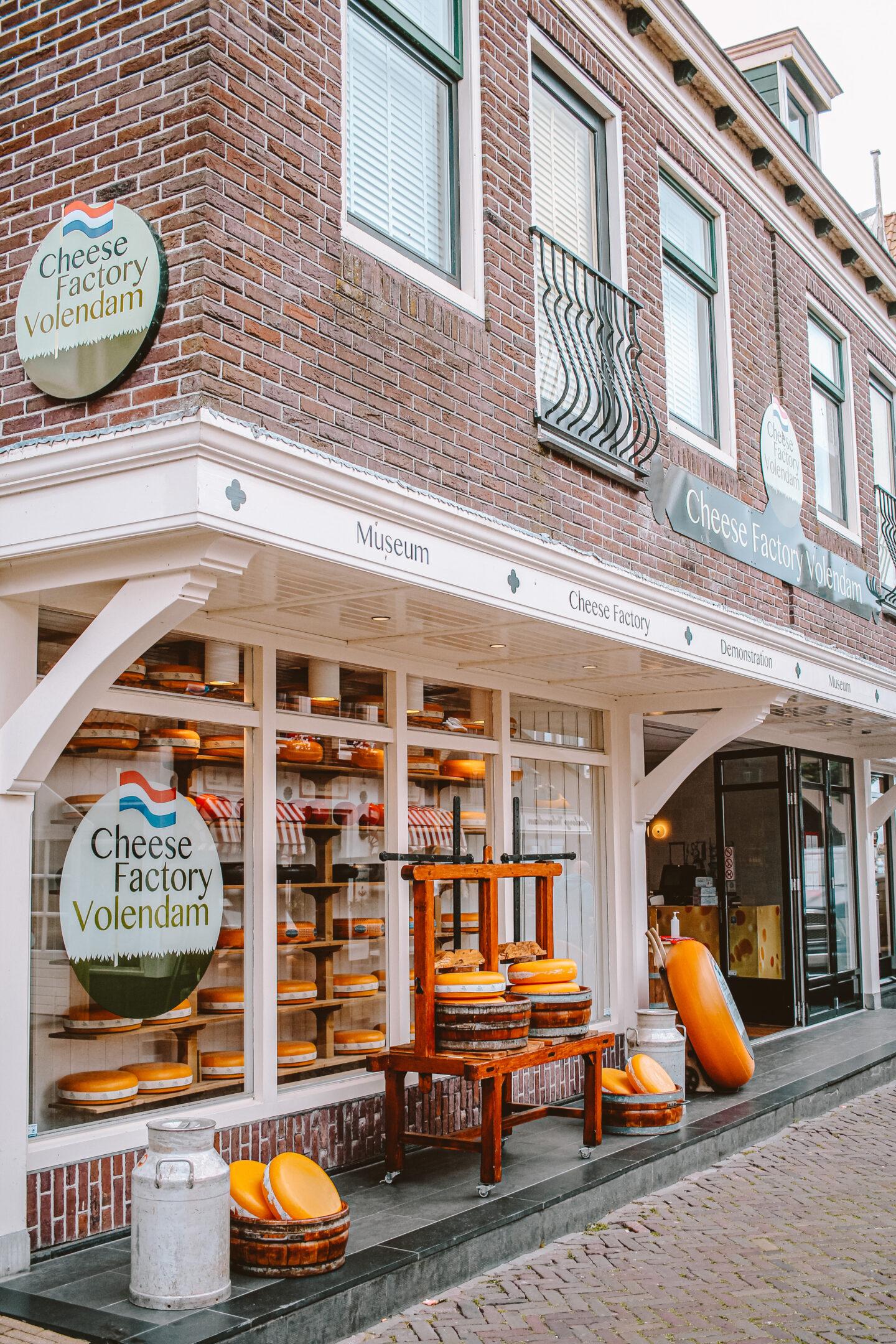 Kaasfabriek in Volendam bezoeken