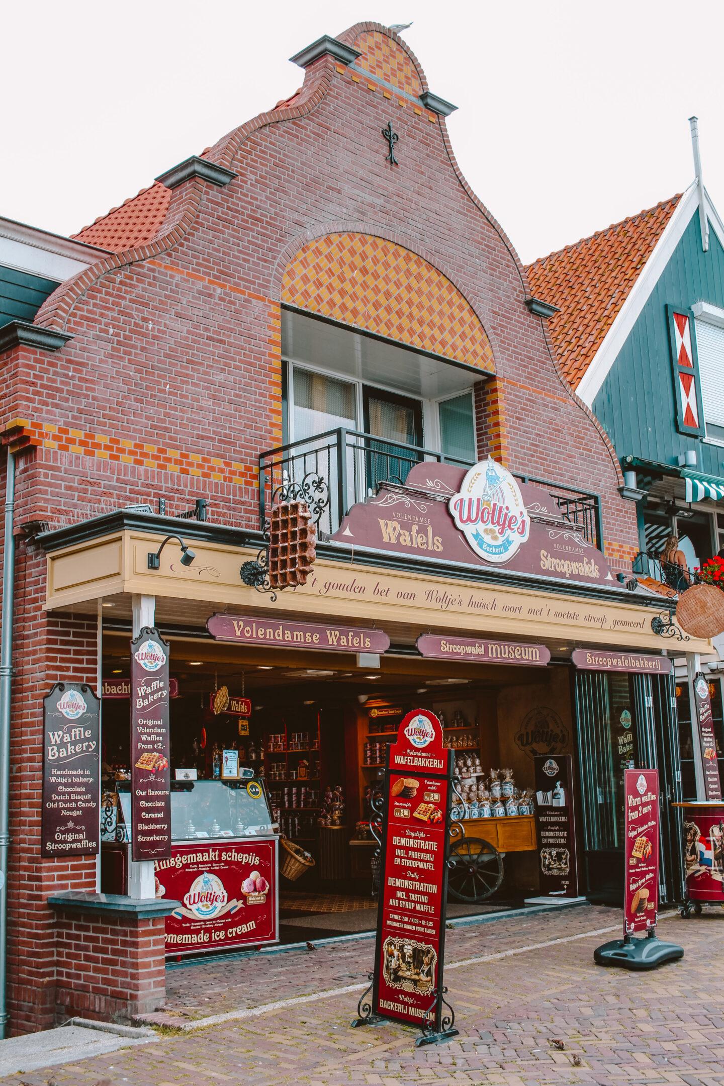 Stroopwafel winkel Volendam