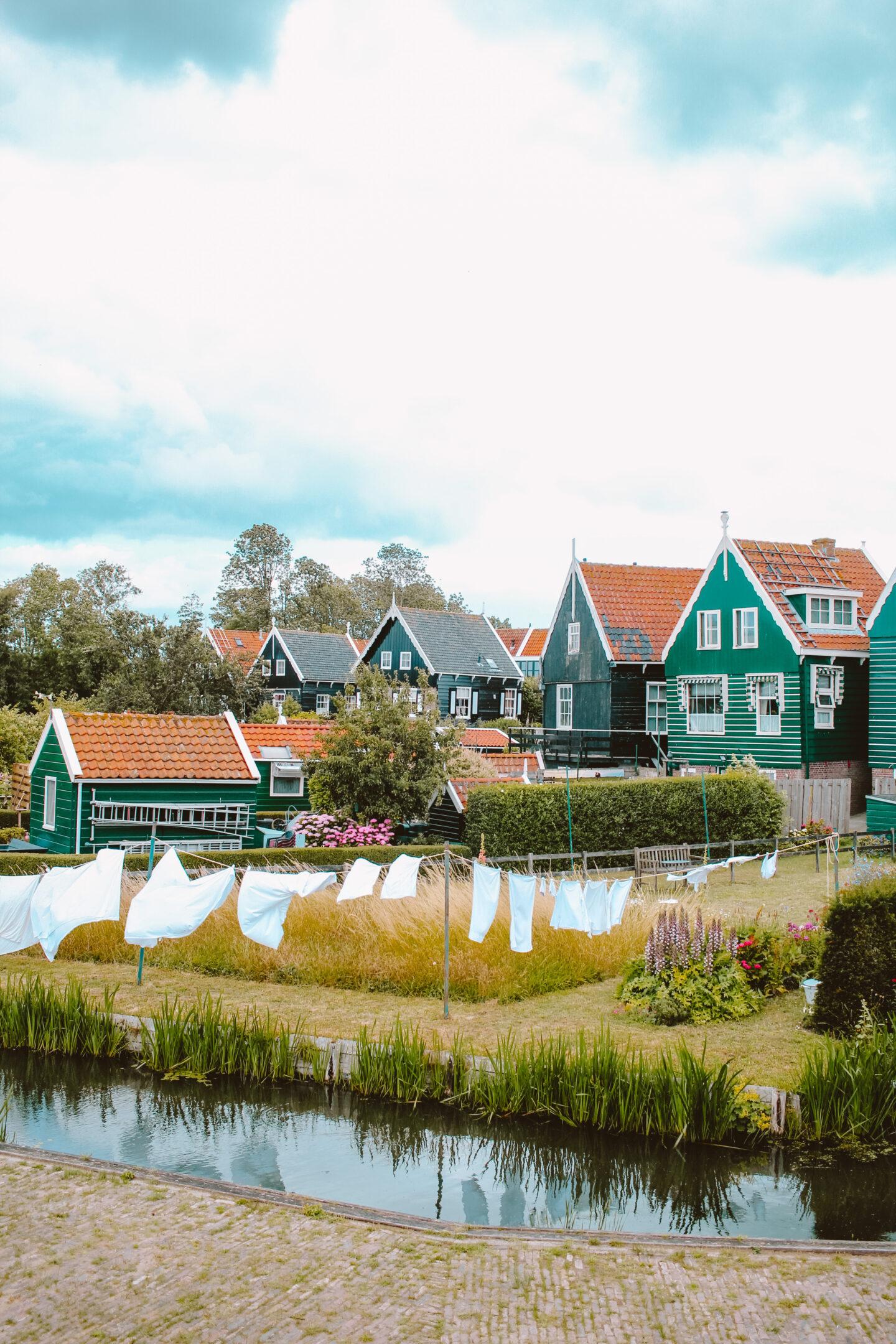 Uitje Volendam en Marken
