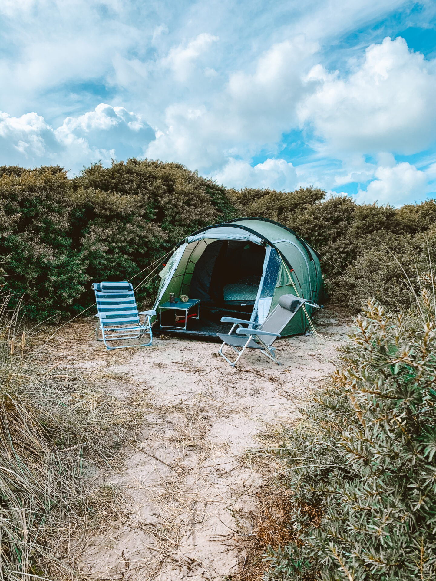 Texel kamperen