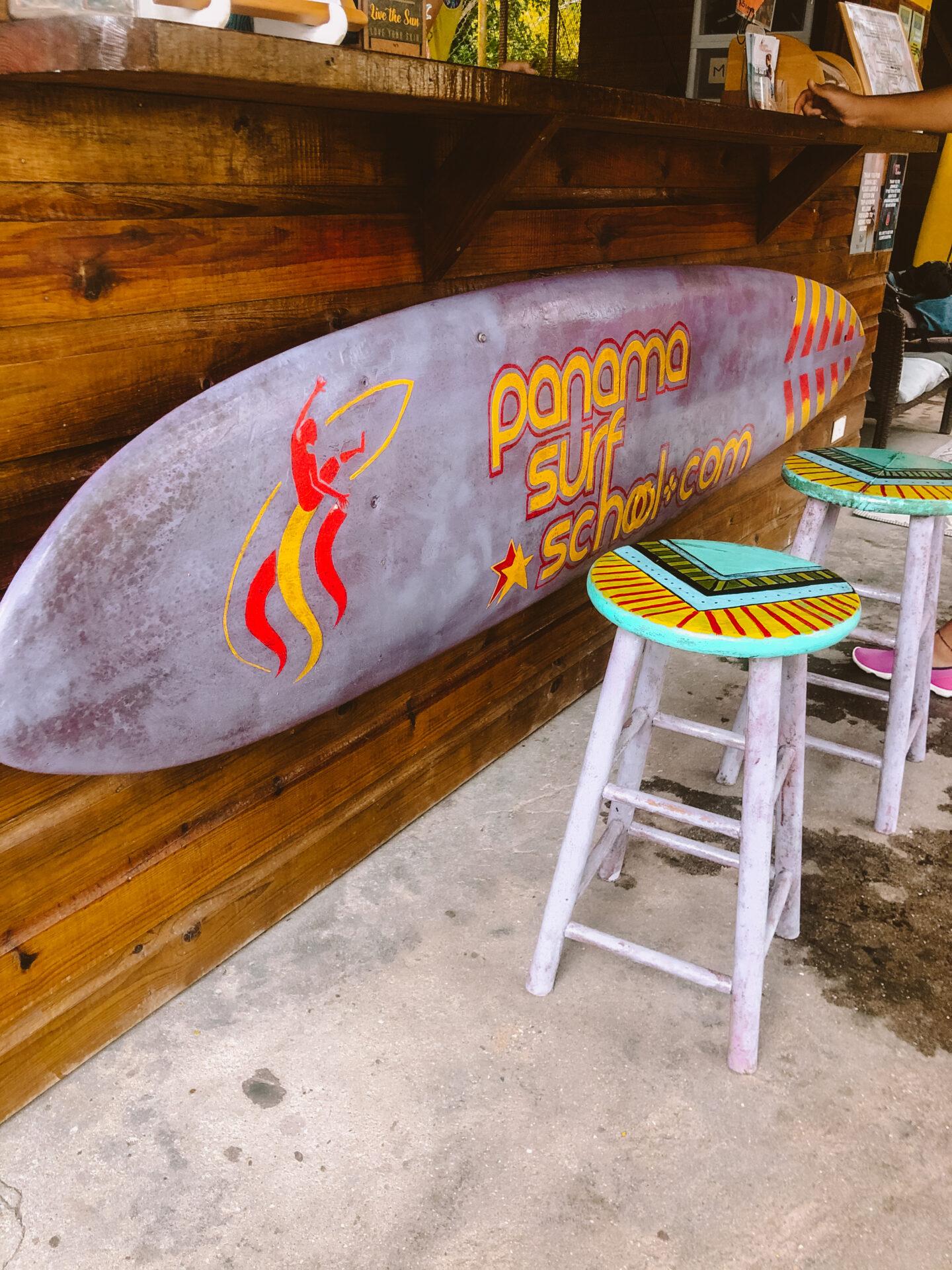 Panama stad surfen