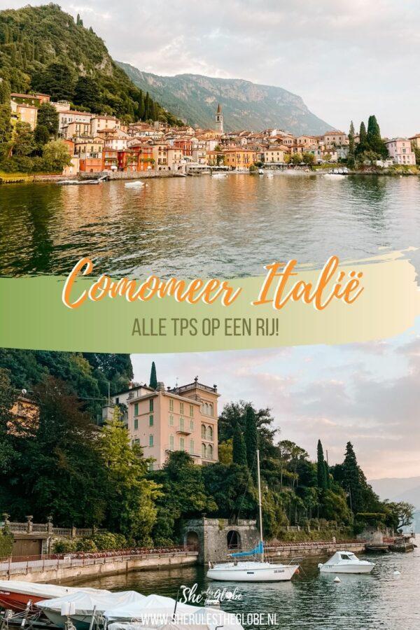 Italië comomeer bezoeken