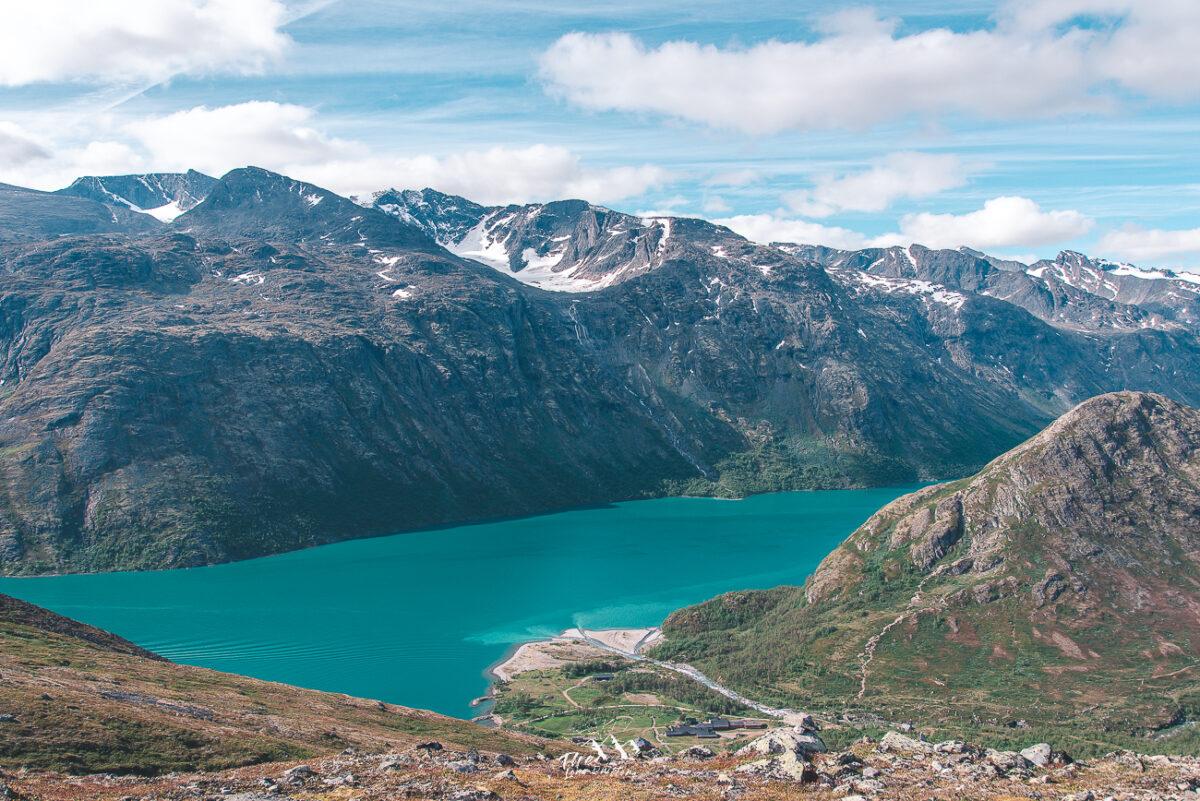 Reizen door noorwegen