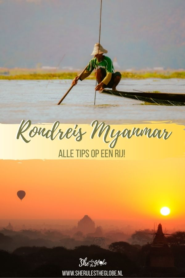 Backpacken door Myanmar