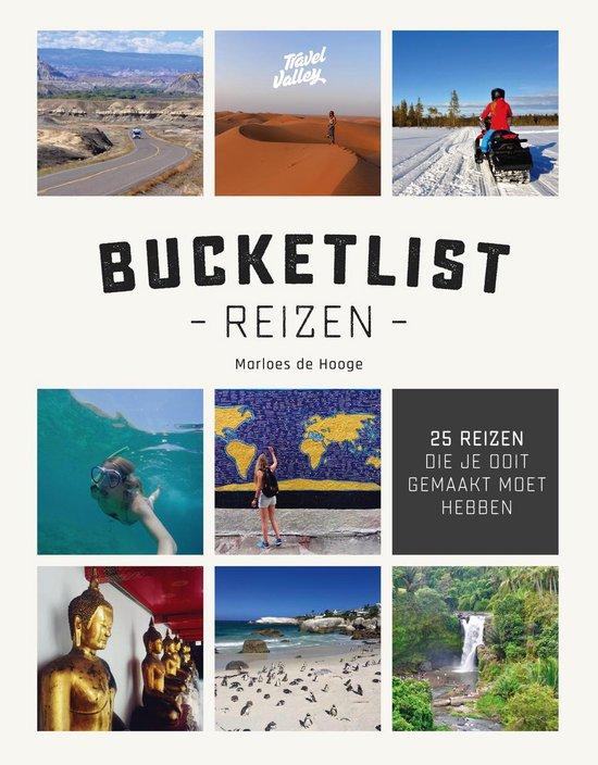 Bucketlist reizen boek