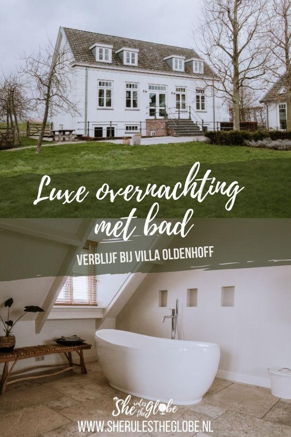 Slapen bij Villa Oldenhoff
