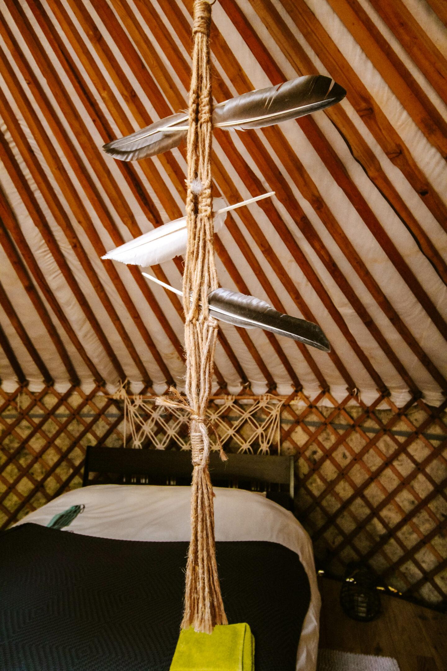 slapen in een yurt ervaringen