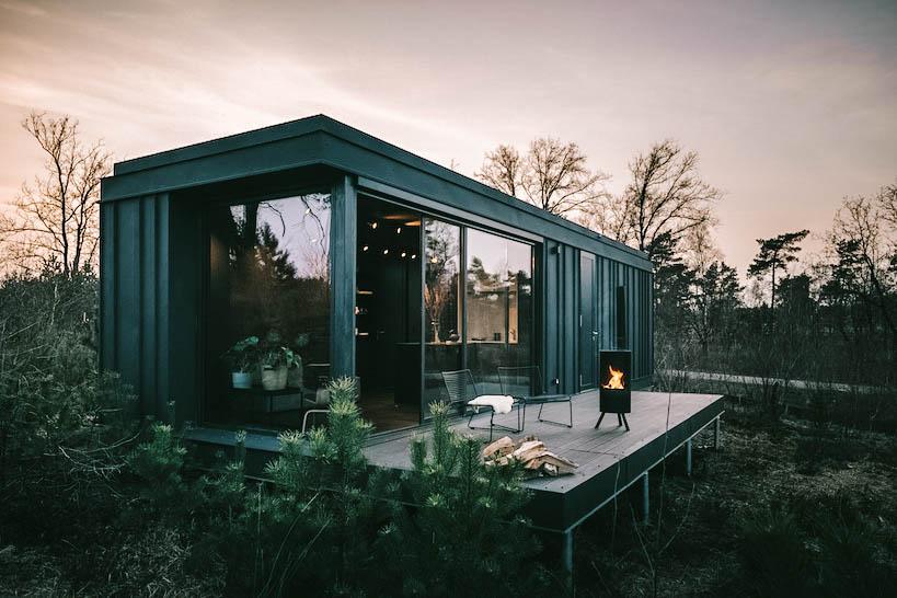 Betaalbaar natuurhuisje in het bos in Hoenderloo
